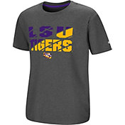 Colosseum Youth LSU Tigers Grey Junior T-Shirt