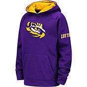Colosseum Youth LSU Tigers Purple Fleece Pullover Hoodie