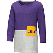 Colosseum Toddler Girls' LSU Tigers Purple/Grey Twizzle Dress