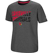 Colosseum Youth Louisville Cardinals Grey Junior T-Shirt