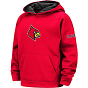Colosseum Youth Louisville Cardinals Cardinal Red Pullover Hoodie