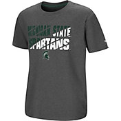 Colosseum Youth Michigan State Spartans Grey Junior T-Shirt