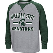 Colosseum Youth Michigan State Spartans Grey/Green Rudy Zoleteck Fleece Sweatshirt