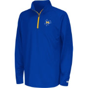 Colosseum Youth McNeese State Cowboys Royal Blue Draft Quarter-Zip Shirt