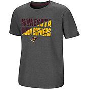 Colosseum Youth Minnesota Golden Gophers Grey Junior T-Shirt