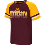 Colosseum Youth Minnesota Golden Gophers Maroon/Gold Rad Tad Raglan T-Shirt