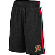 Colosseum Youth Maryland Terrapins Grey Mendoza Shorts