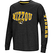 Colosseum Youth Missouri Tigers Spike Long Sleeve Black T-Shirt