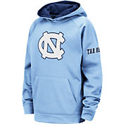 Colosseum Youth North Carolina Tar Heels Carolina Blue Fleece Pullover Hoodie