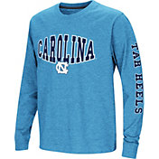 Colosseum Youth North Carolina Tar Heels Carolina Blue Spike Long Sleeve T-Shirt