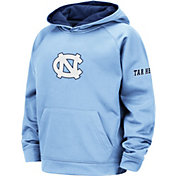 Colosseum Youth North Carolina Tar Heels Carolina Blue Pullover Hoodie