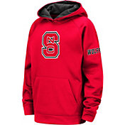 Colosseum Youth NC State Wolfpack Red Fleece Pullover Hoodie