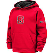 Colosseum Youth NC State Wolfpack Red Pullover Hoodie