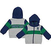 Colosseum Infant Boys' Notre Dame Fighting Irish Grey Snowplough Full-Zip Hoodie