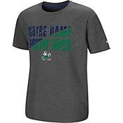 Colosseum Youth Notre Dame Fighting Irish Grey Junior T-Shirt