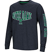 Colosseum Youth Notre Dame Fighting Irish Navy Spike Long Sleeve T-Shirt
