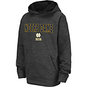 Colosseum Youth Notre Dame Fighting Irish Grey Pullover Hoodie