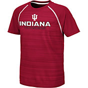 Colosseum Youth Indiana Hoosiers Crimson Raglan T-Shirt