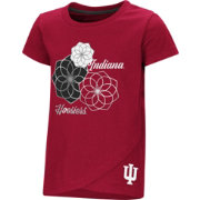 Colosseum Toddler Girls' Indiana Hoosiers Crimson Whoo! Whoo! T-Shirt