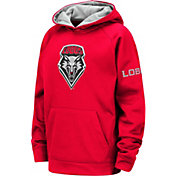 Colosseum Youth New Mexico Lobos Cherry Fleece Pullover Hoodie