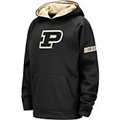 Colosseum Youth Purdue Boilermakers Pullover Black Hoodie