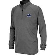 Colosseum Youth Penn State Nittany Lions Grey Quarter-Zip Shirt