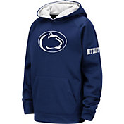 Colosseum Youth Penn State Nittany Lions Blue Fleece Pullover Hoodie
