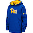 Colosseum Youth Pitt Panthers Blue Fleece Pullover Hoodie