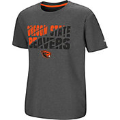 Colosseum Youth Oregon State Beavers Grey Junior T-Shirt