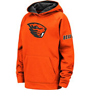 Colosseum Youth Oregon State Beavers Orange Fleece Pullover Hoodie