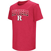 Colosseum Youth Rutgers Scarlet Knights Scarlet Dual Blend T-Shirt