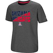 Colosseum Youth Arizona Wildcats Grey Junior T-Shirt