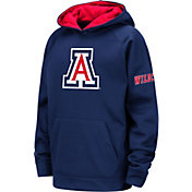 Colosseum Youth Arizona Wildcats Navy Fleece Pullover Hoodie