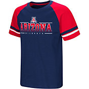 Colosseum Youth Arizona Wildcats Navy/Cardinal Rad Tad Raglan T-Shirt
