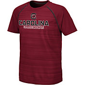 Colosseum Youth South Carolina Gamecocks Garnet Raglan T-Shirt