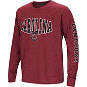 Colosseum Youth South Carolina Gamecocks Garnet Spike Long Sleeve T-Shirt