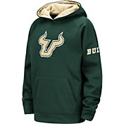 Colosseum Youth South Florida Bulls Green Fleece Pullover Hoodie