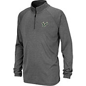 Colosseum Youth South Florida Bulls Grey Quarter-Zip Shirt