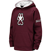 Colosseum Youth Southern Illinois  Salukis Maroon Fleece Pullover Hoodie