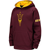Colosseum Youth Arizona State Sun Devils Maroon Fleece Pullover Hoodie