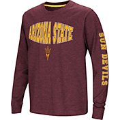 Colosseum Youth Arizona State Sun Devils Maroon Spike Long Sleeve T-Shirt