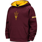 Colosseum Youth Arizona State Sun Devils Maroon Pullover Hoodie