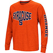 Colosseum Youth Syracuse Orange Orange Spike Long Sleeve T-Shirt