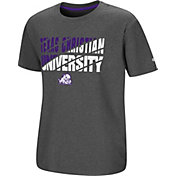 Colosseum Youth TCU Horned Frogs Grey Junior T-Shirt