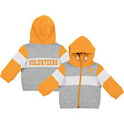 Colosseum Infant Boys' Tennessee Volunteers Grey Snowplough Full-Zip Hoodie