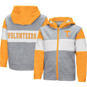 Colosseum Toddler Boys' Tennessee Volunteers Grey Snowplough Full-Zip Hoodie
