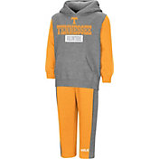 Colosseum Toddler Boys' Tennessee Volunteers Grey/Tennessee Orange Back To Second Grade Fleece Set