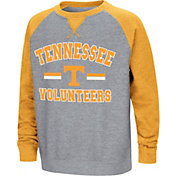 Colosseum Youth Tennessee Volunteers Grey/Tennessee Orange Rudy Zoleteck Fleece Sweatshirt