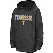 Colosseum Youth Tennessee Volunteers Grey Pullover Hoodie