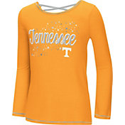 Colosseum Youth Girls' Tennessee Volunteers Tennesee Orange Camber Long Sleeve T-Shirt